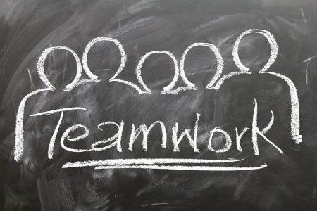 teamwork, team, blackboard blackboard